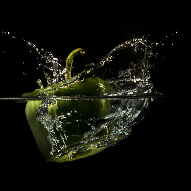 """""""Pepper Splash"""" stock image"""