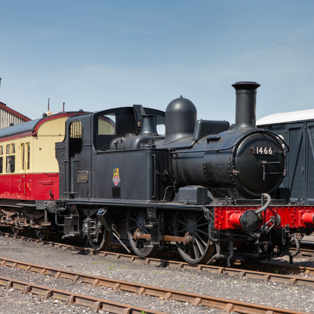 """GWR 14xx Class No 1466"" stock image"