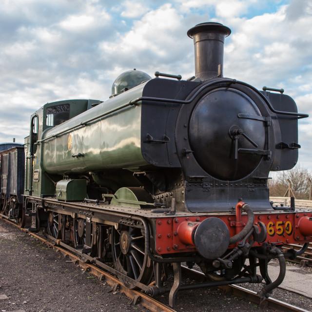"""GWR Pannier Tank No.3650"" stock image"