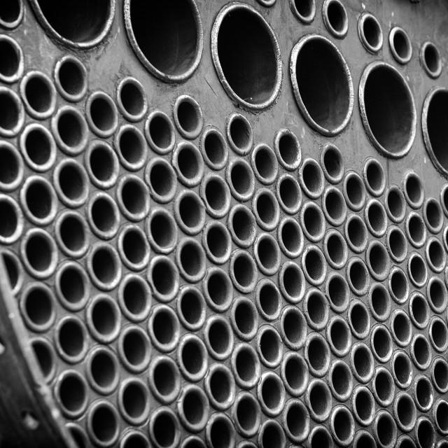 """""""Steam Engine Boiler Tubes"""" stock image"""
