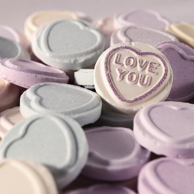 """Love Hearts"" stock image"