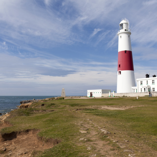"""Portland lighthouse"" stock image"