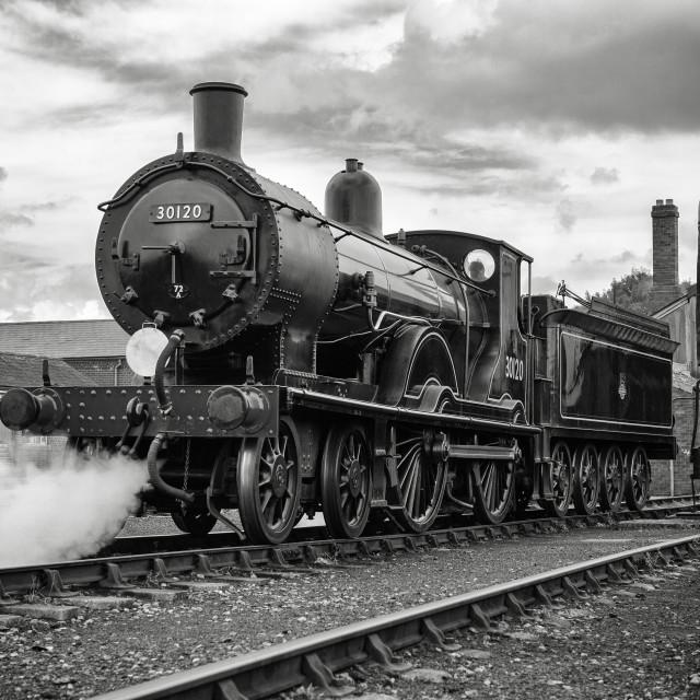 """T9 Class No.30120"" stock image"