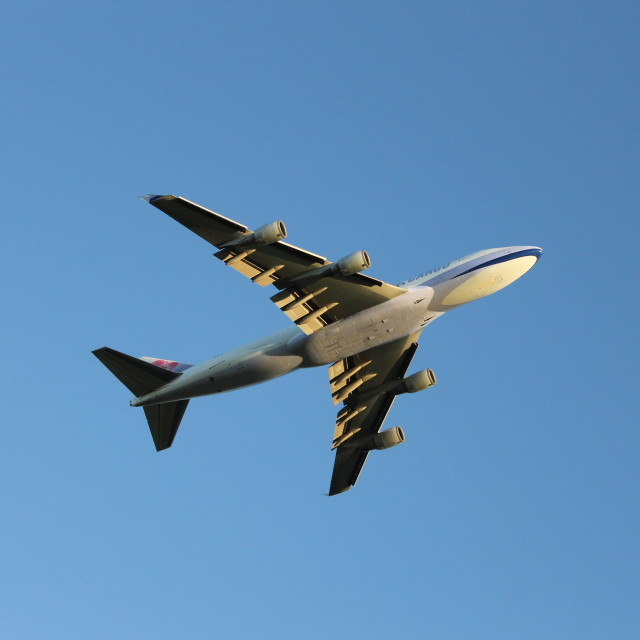 """747"" stock image"