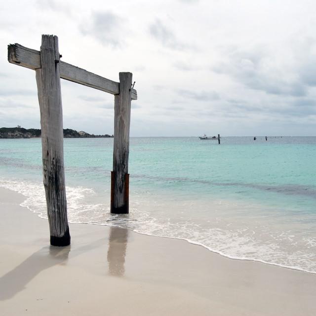 """Western Beach"" stock image"