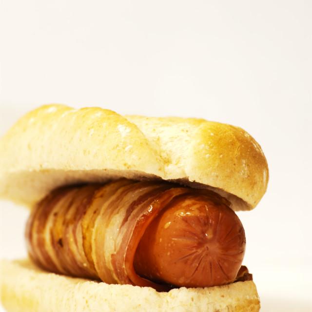 """""""Hot dog"""" stock image"""