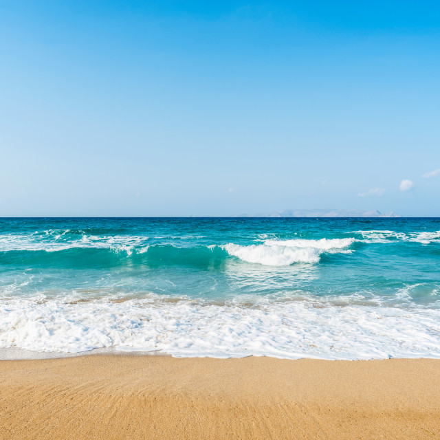 """Amnissos Beach"" stock image"