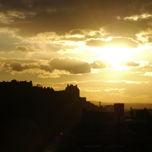 """Photo taken from Caltonhill Edinburgh"" stock image"