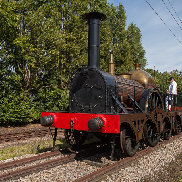 """GWR Replica Fire Fly"" stock image"