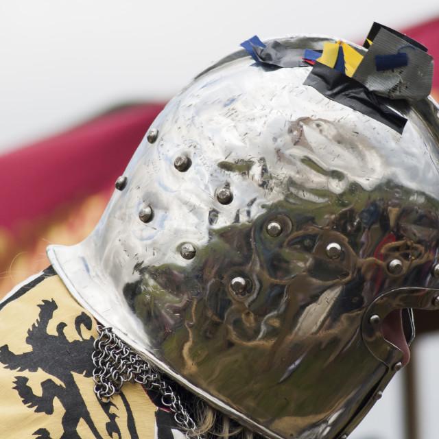 """Helmet reflections"" stock image"