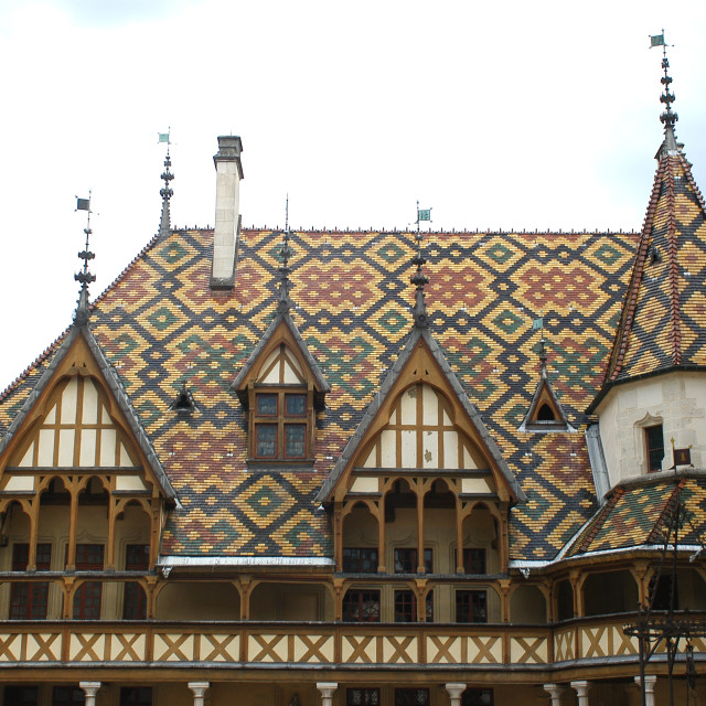 """""""Hospices of Beaune"""" stock image"""