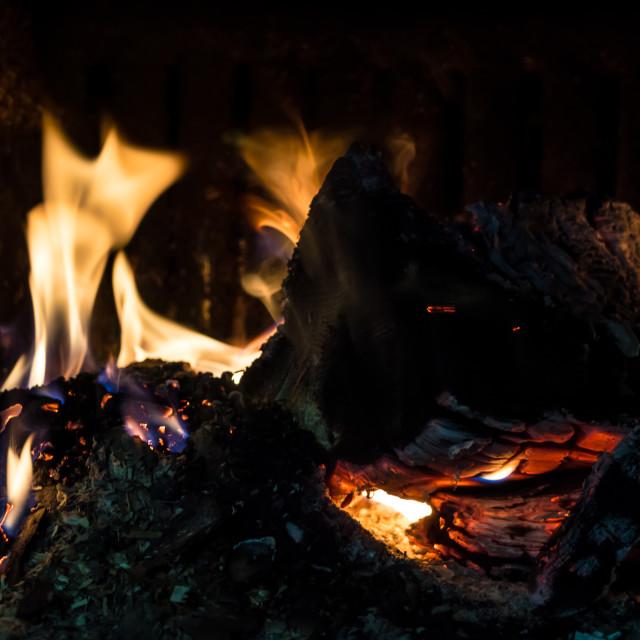 """""""Burning hot"""" stock image"""