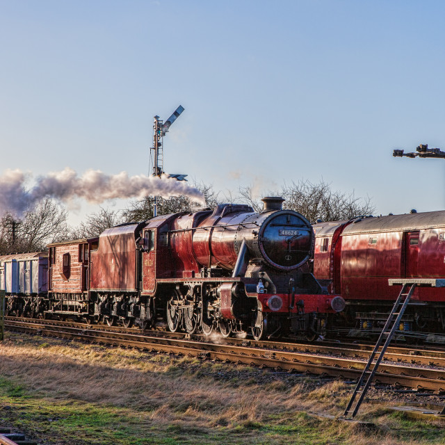 """LMS 8F No 48624"" stock image"