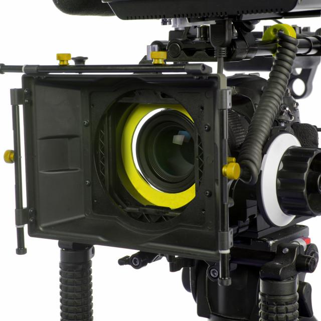 """Professional video camera"" stock image"