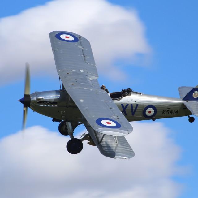 """Hawker Hind K5414"" stock image"