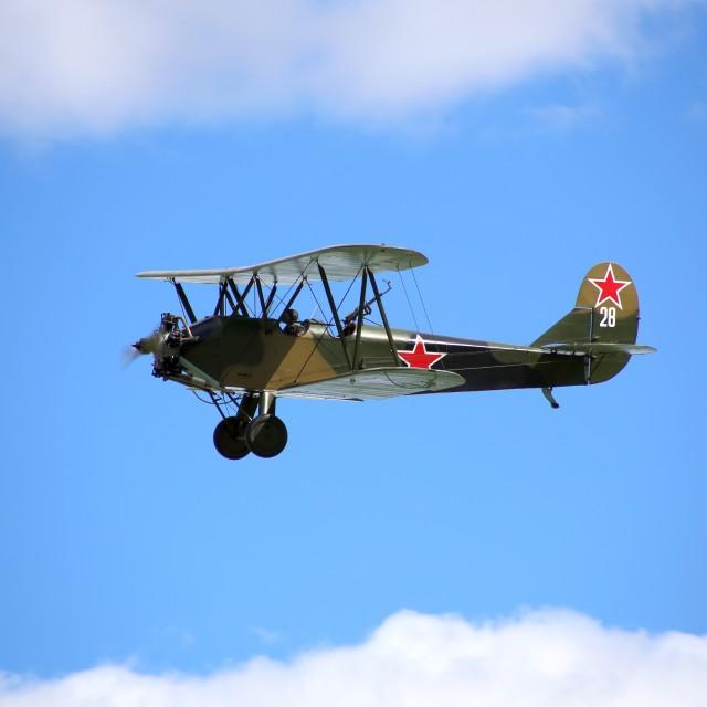 """""""Polikarpov PO-2 28"""" stock image"""