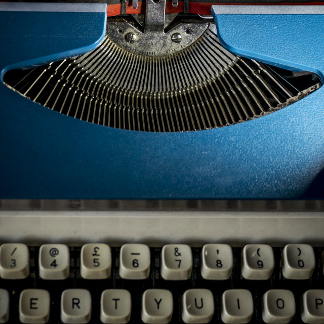 """Typewriter"" stock image"