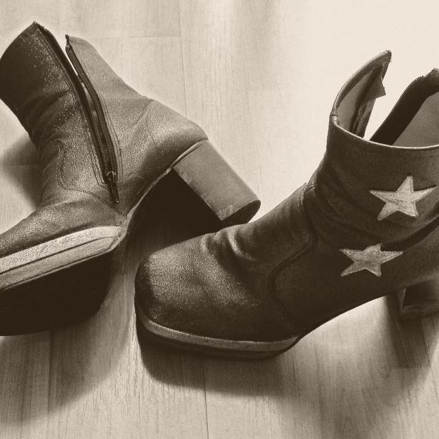 """Platform Shoes"" stock image"