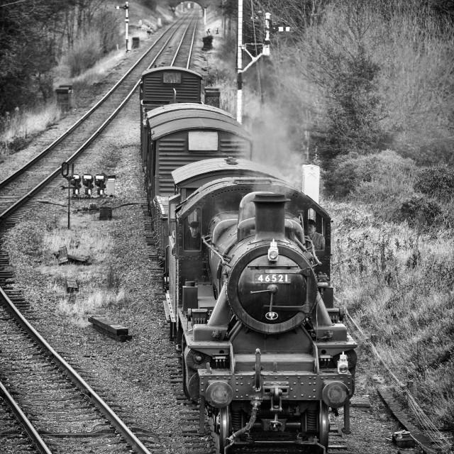 """LMS Class 2 No.46521"" stock image"