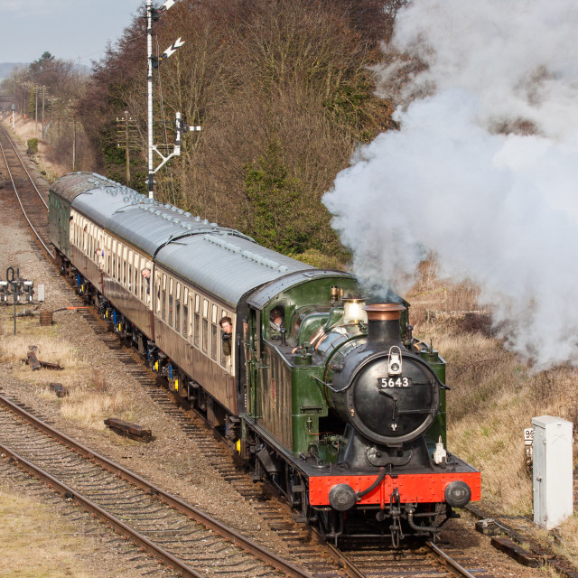 """GWR Class 5600, No. 5643"" stock image"