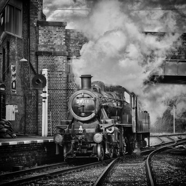 """LMS Class 2 No. 46521"" stock image"