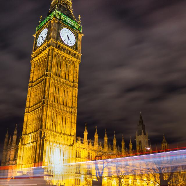 """Big Ben Long Exposure"" stock image"