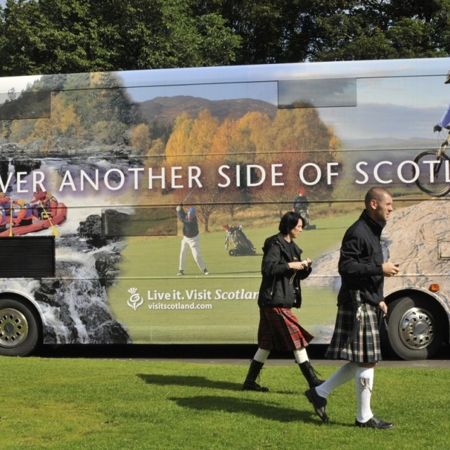 """Visit Scotland"" stock image"