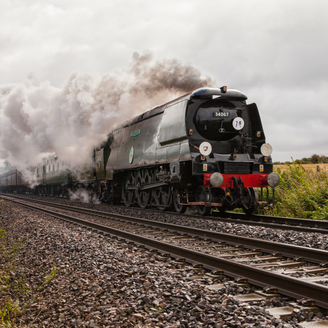 """""""Battle of Britain Class No. 340367 Tangmere"""" stock image"""
