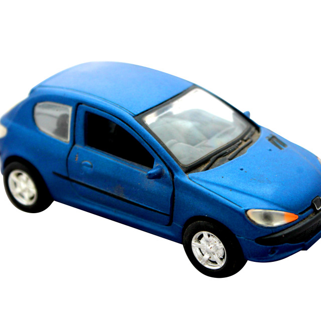 """Metal model toy car"" stock image"