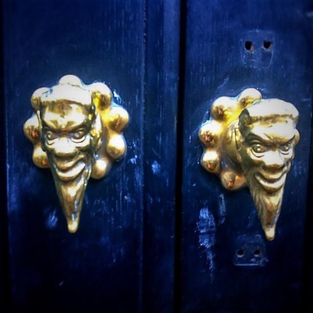 """""""Devils Doorknobs"""" stock image"""
