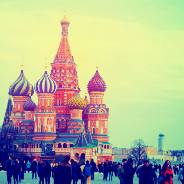 """St Basil's - Moscow"" stock image"