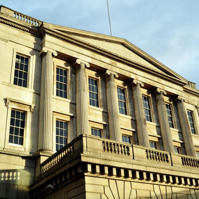 """London - The Fishmongers' Company Building"" stock image"