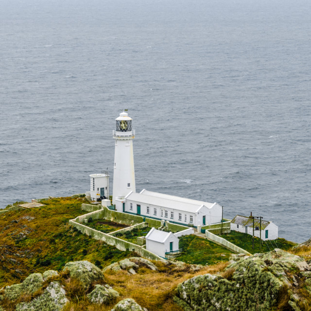 """South Stack Lighthouse Isle of Anglesey"" stock image"