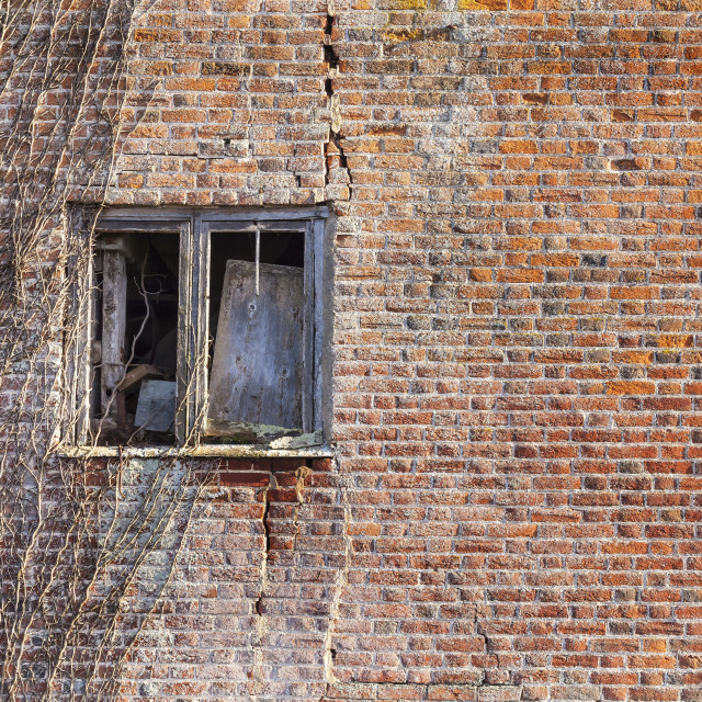 """The Old Window"" stock image"