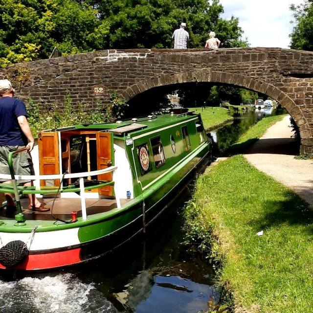 """""""MONMOUTHSHIRE & BRECON CANAL"""" stock image"""