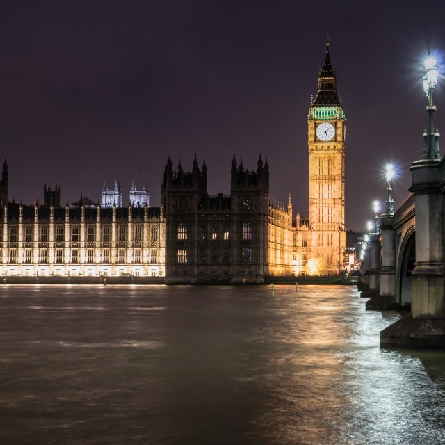 """Westminster Evening"" stock image"