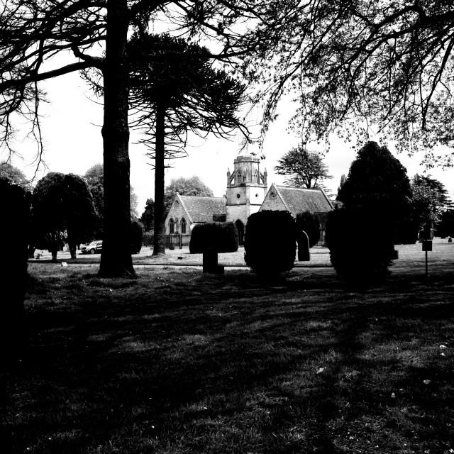 """Grave Yard"" stock image"