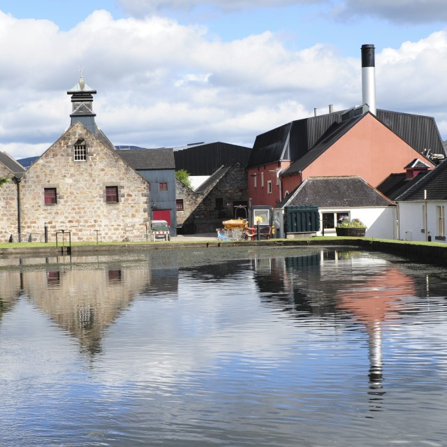 """Speyside Whisky Distillery"" stock image"