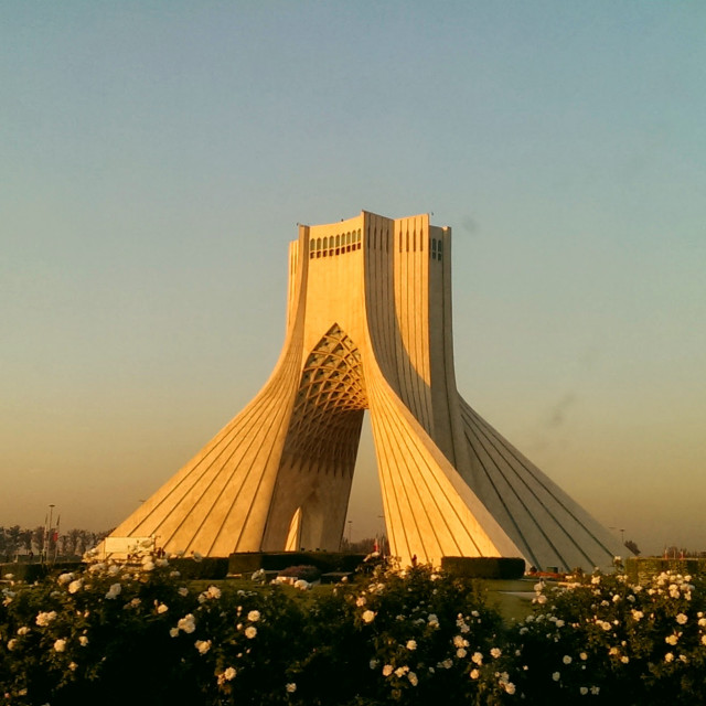 """Azadi Tower Tehran"" stock image"
