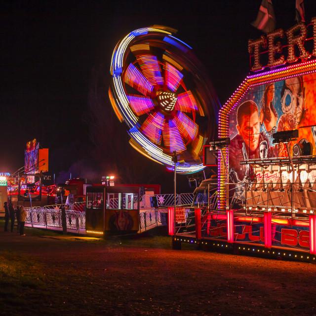 """""""Fair Ground Ride"""" stock image"""