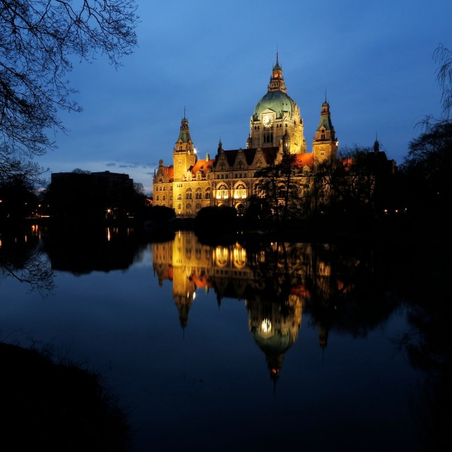 """""""Ratthaus Hannover"""" stock image"""
