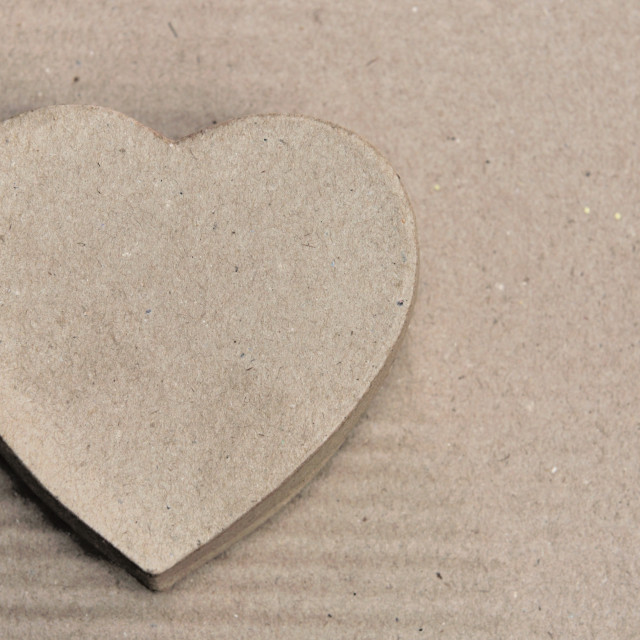 """""""heart recycled"""" stock image"""