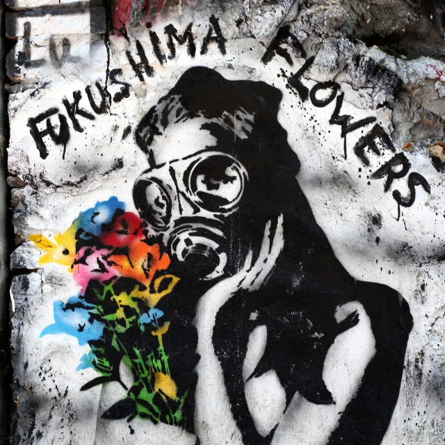 """""""Fukushima flowers"""" stock image"""