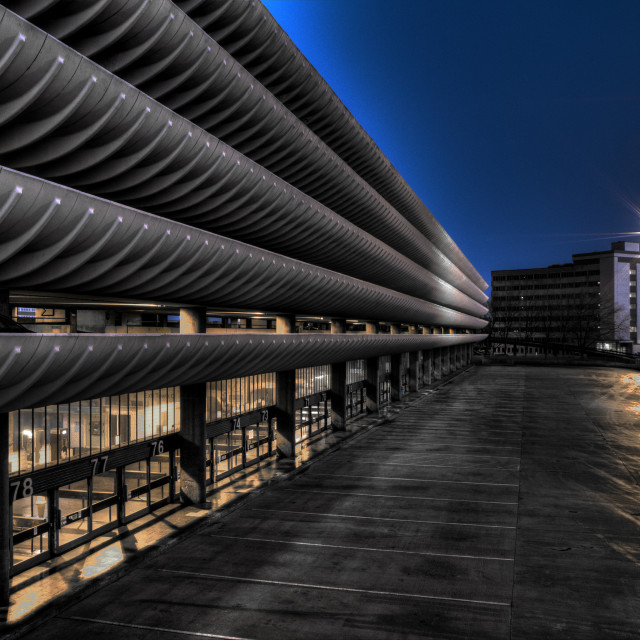 """Preston Bus Station"" stock image"