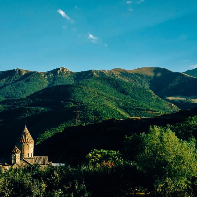 """Tatev monastery & the beautiful Nature"" stock image"