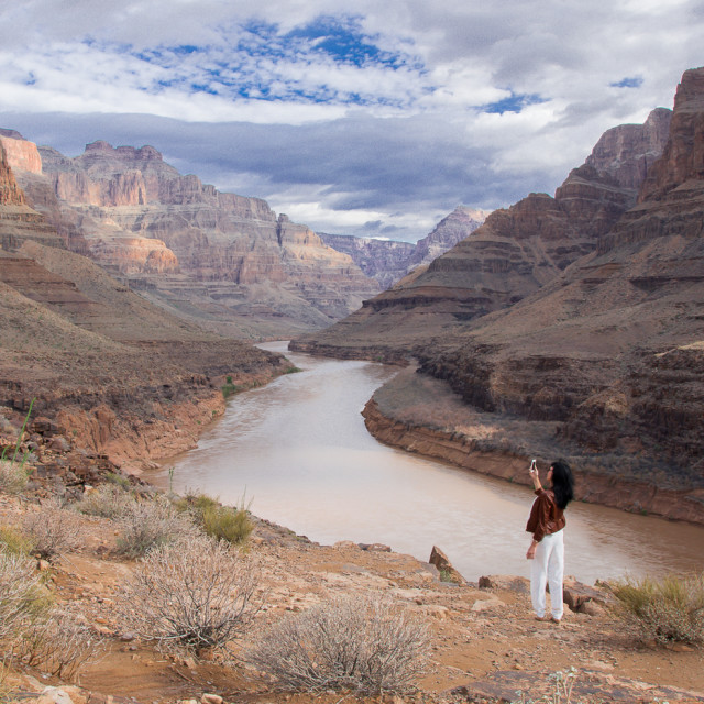 """Grand Canyon Photo"" stock image"