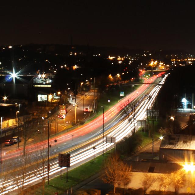 """Bristol lights"" stock image"