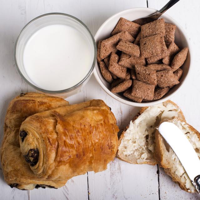 """""""Full breakfast"""" stock image"""
