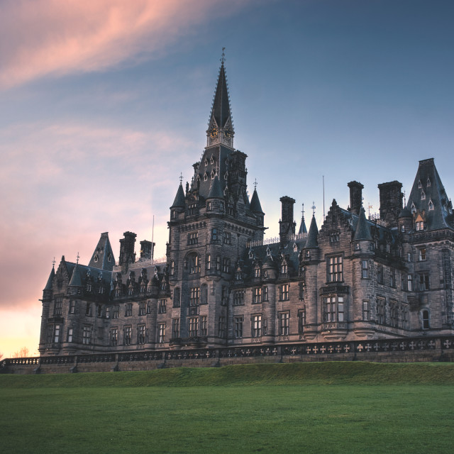 """Fettes College Edinburgh"" stock image"