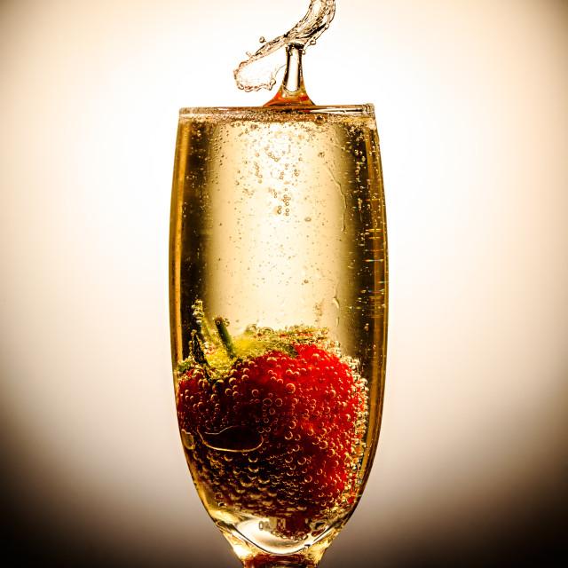 """Champagne supernova"" stock image"